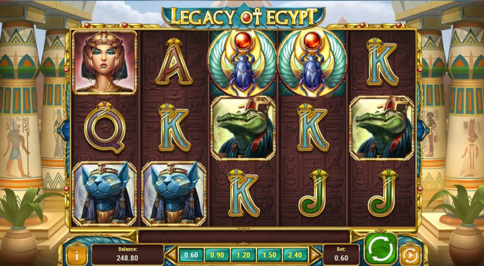 Legacy Slot Game Reviews