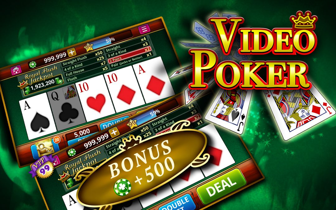 9 ways to increase the chances of winning in video poker