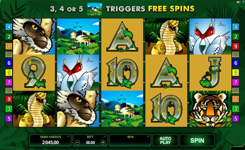 Adventure Palace Slot Game