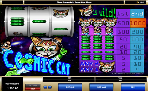 Cosmic Cat Slot Game Review