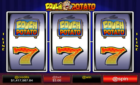 Couch Potato Slot Machine
