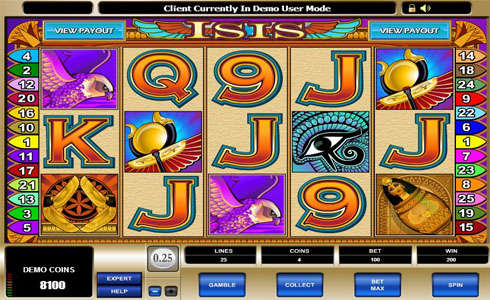 Isis Online Slot