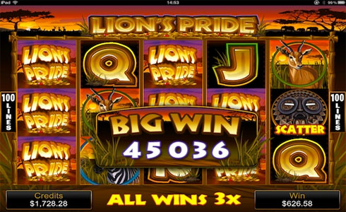 Lion's Pride Pokies Review