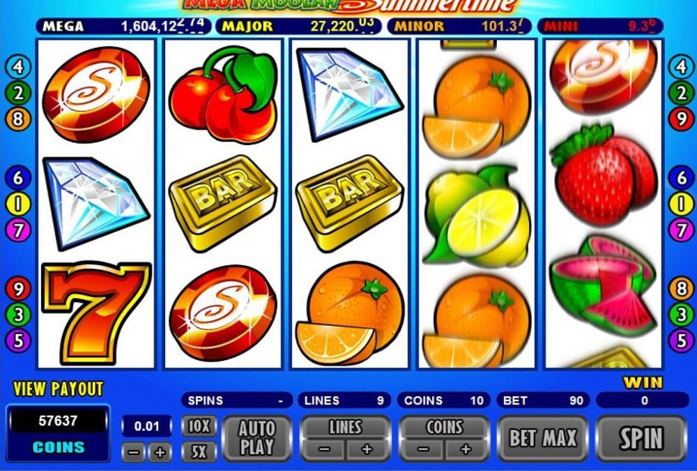 Mega Moolah Summertime Pokie Review