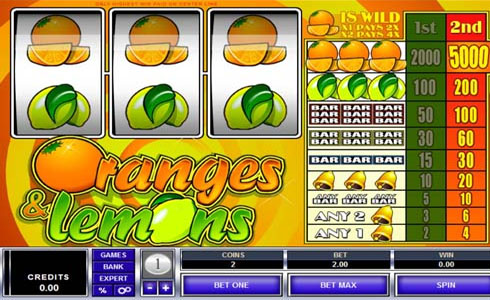 Oranges and Lemons Slot Review