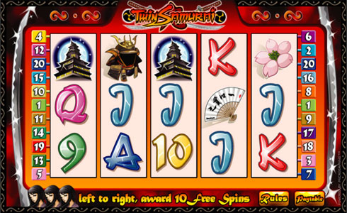 Twin Samurai Pokie Game Review